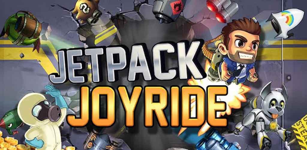 دانلود بازی Jetpack Joyride با پول بی نهایت