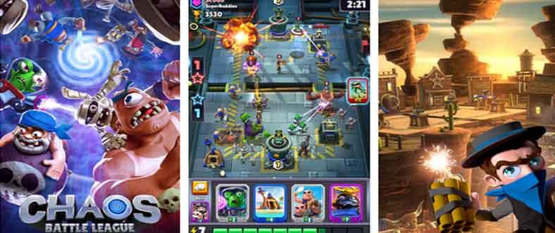 دانلود بازی Chaos Battle League با پول بی نهایت