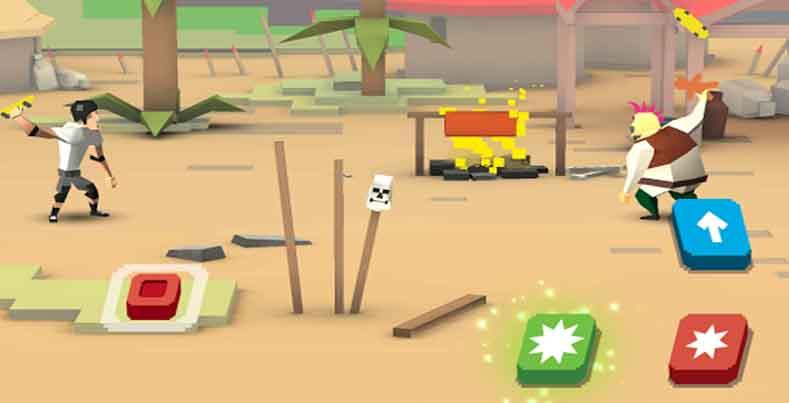 Fling Fighters 1.0.2 یک بازی آرکید از استودیوی بازیسازی Craneballs می باشد که در مارکت اندروید بصورت رایگان منتشر شده است. با مبارزان دیگر از سراسر جهان و یا دوستان خود مبارزه کنید و آنها را به چالش بکشید. هنگامی که تمام جزیره های را فتح می کنید باید از آنها دفاع کنید و به جدول لیدربوردها صعود کنید. پس مبارز مورد علاقه خود را از بین 40 کارت بازی در دسترس انتخاب کنی و یا آن را ارتقا دهید. هر جزیره توسط یک رئیس محافظت می شود. روسا غارت های ارزشمندی در اختیار دارند پس با آنها مبارزه کنید و به یک قهرمان تبدیل شوید. از انواع قدرت هایتان استفاده کنید و حریفان خود را به تله بیندازید.