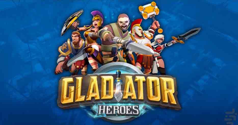 دانلود بازی گلادیاتورهای قهرمان Gladiator Heroes با پول بی نهایت