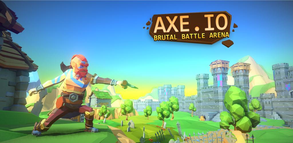 دانلود بازی AXE.IO با پول بی نهایت