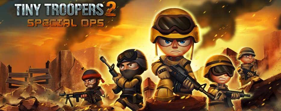 دانلود بازی Tiny Troopers با پول بی نهایت
