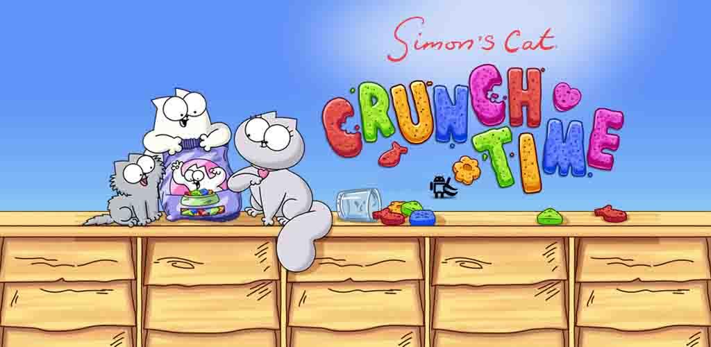 دانلود بازی پازلی Simon's Cat - Crunch Time گربه سایمون با پول بی نهایت