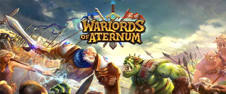 دانلود بازی استراتژی Warlords of Aternum اندروید
