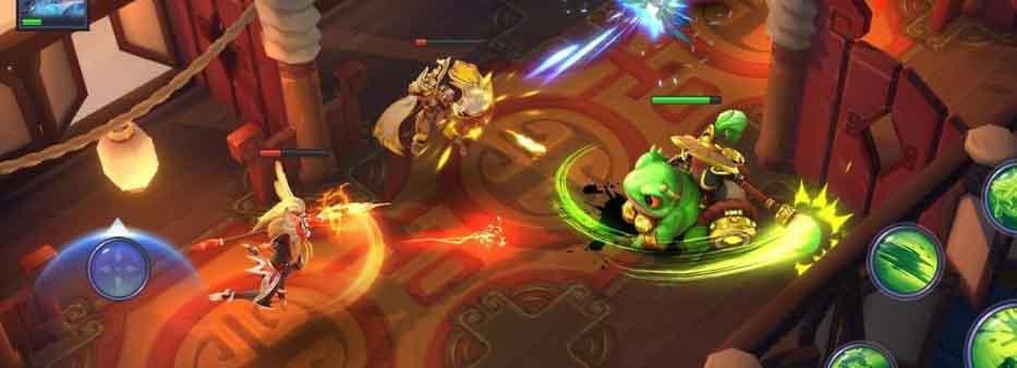 دانلود بازی جنگجویان سیاه چال Dungeon Hunter Champions اندروید