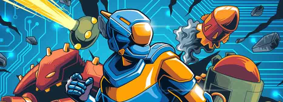 دانلود بازی اکشن مرد آهنی Meganoid اندروید