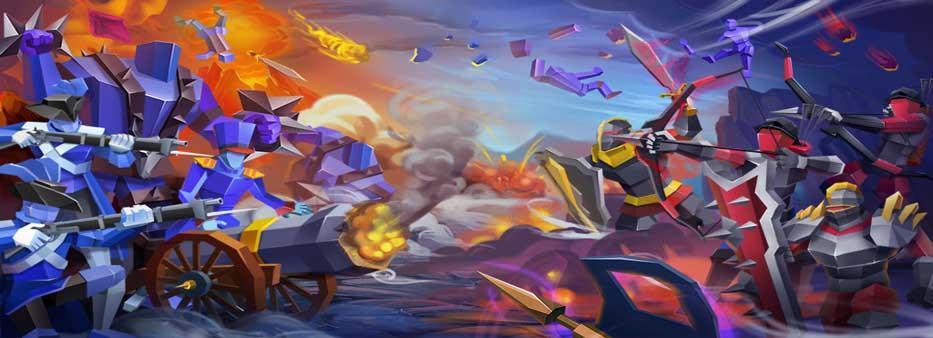 دانلود بازی Epic Battle Simulator 2 با پول بی نهایت