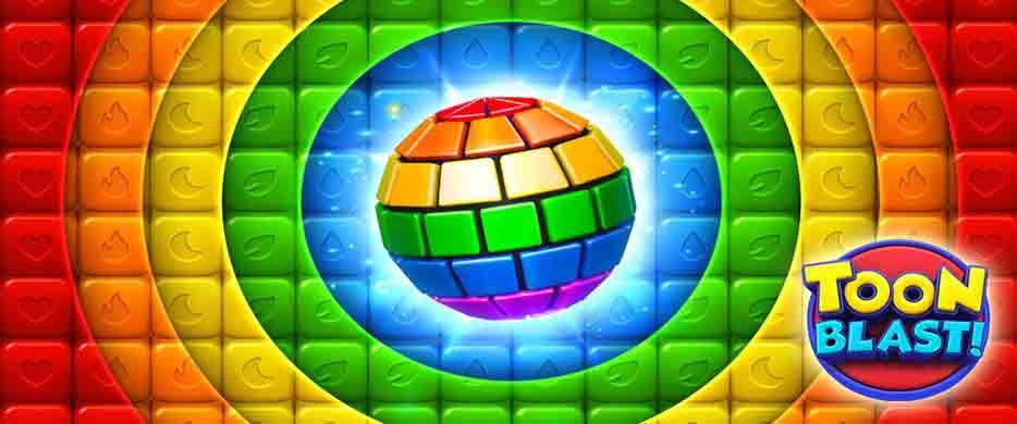 دانلود بازی Toon Blast برای اندروید, دانلود بازی Toon Blast با پول بینهایت, دانلود بازی هک شده Toon Blast, نسخه مود شده Toon Blast, دانلود بازی انفجار مکعب ها برای اندروید