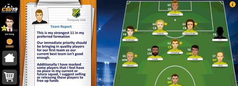 دانلود بازی Club Soccer Director با پول بی نهایت