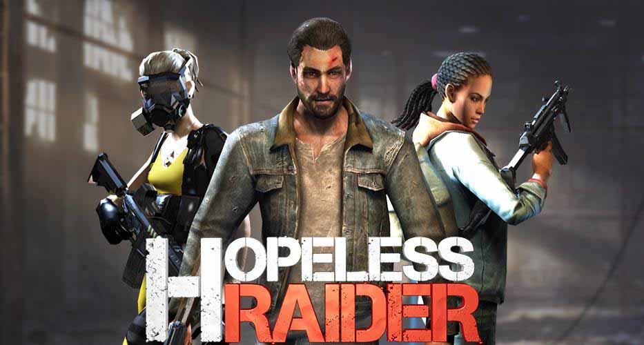 دانلود بازی Hopeless Raider-Zombie Shooting Games با پول بی نهایت
