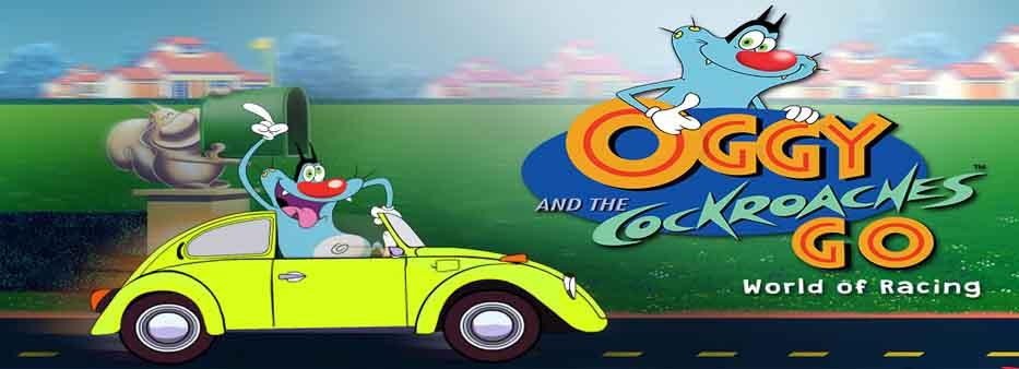دانلود بازی Oggy Go - World of Racing با پول بی نهایت