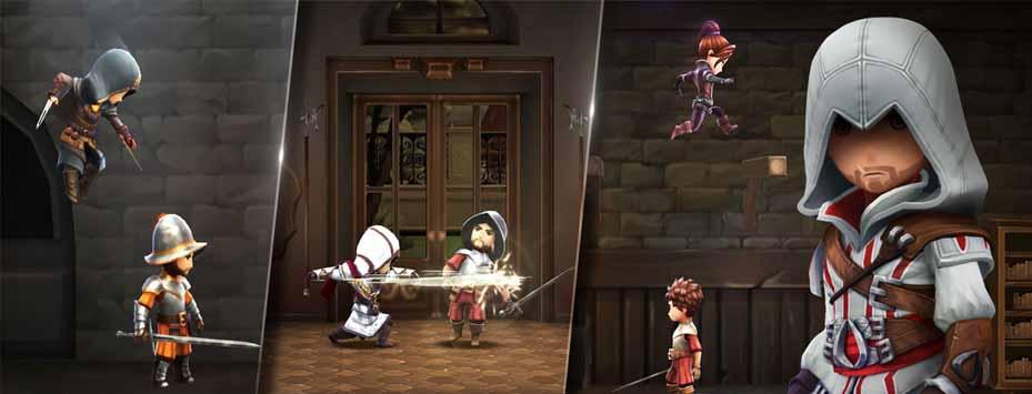 دانلود بازی مود شده Assassin's Creed: Rebellion با پول بی نهایت
