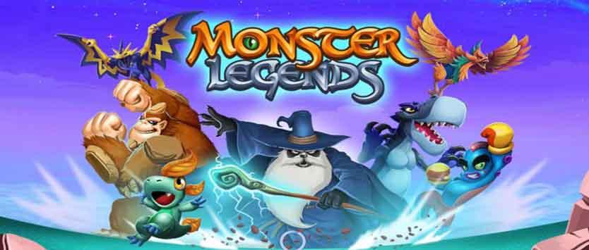 دانلود بازی افسانه هیولاها Monster Legends + نسخه مود