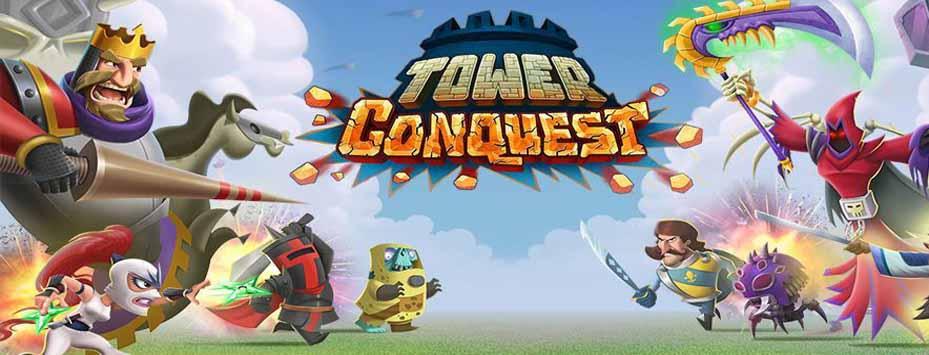 دانلود بازی هک شده Tower Conquest برای اندروید