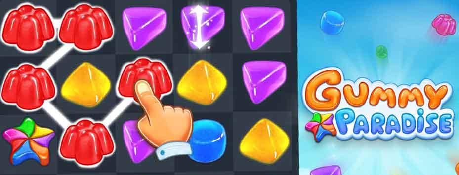 دانلود نسخه هک شده بازی Gummy Paradise اندوید
