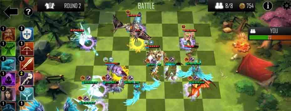 دانلود بازی Auto Chess Defense برای اندروید + نسخه هک شده