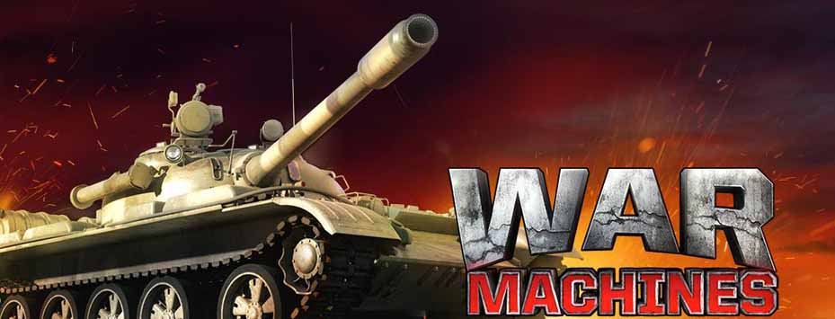 دانلود بازی جنگ تانک ها War Machines اندروید + نسخه مود