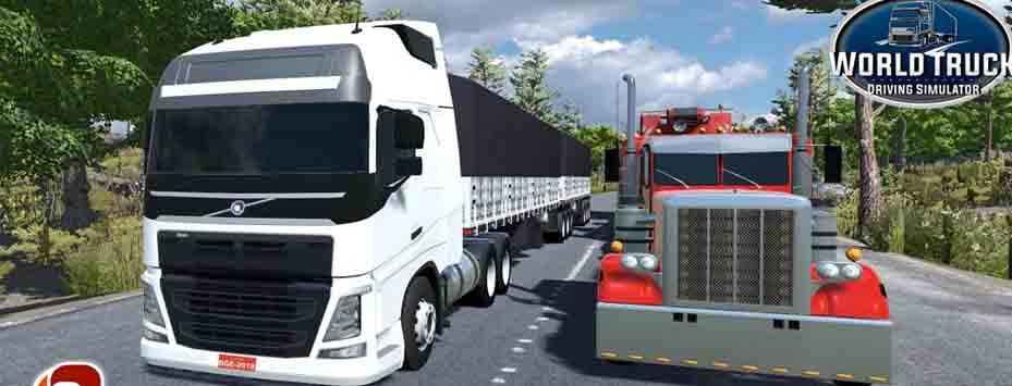 دانلود بازی World Truck Driving Simulator با پول بینهایت