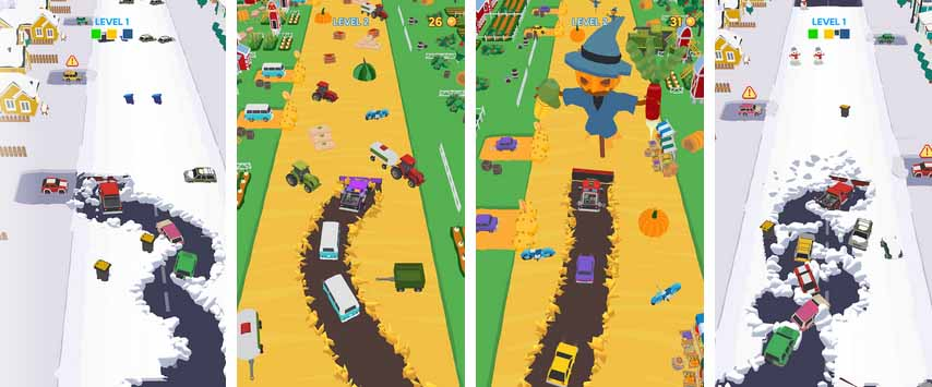 دانلود بازی Clean Road با پول بی نهایت