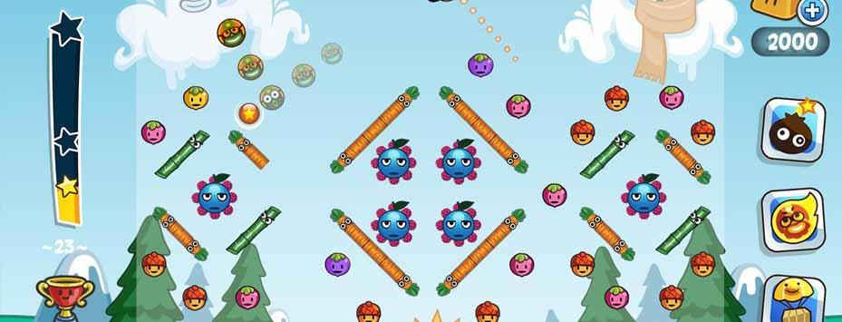 دانلود نسخه هک شده بازی Papa Pear Saga اندروید