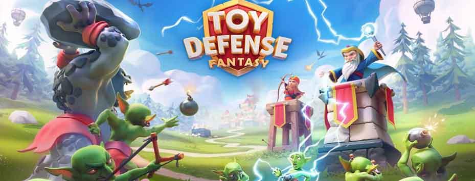 دانلود بازی مود شده Toy Defense Fantasy برای اندروید