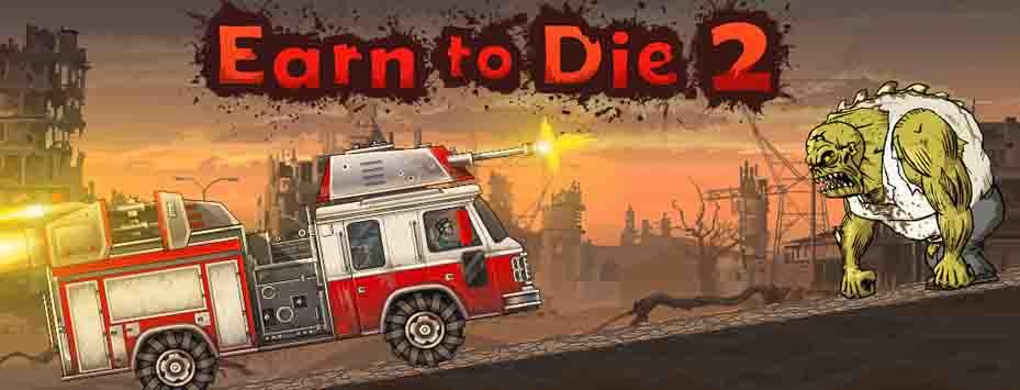 دانلود بازی مود شده Earn to Die 2 با پول بی نهایت