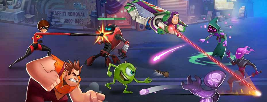 دانلود بازی Disney Heroes اندروید با پول بی نهایت
