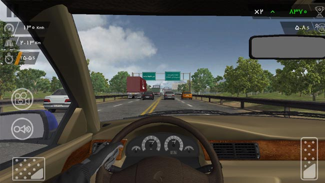 دانلود نسخه هک شده بازی دنده دو ترافیک با پول بی نهایت