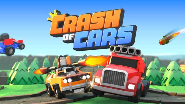 دانلود بازی Crash of Cars با پول بی نهایت