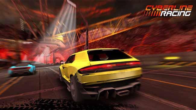 دانلود بازی Cyberline Racing با پول بی نهایت