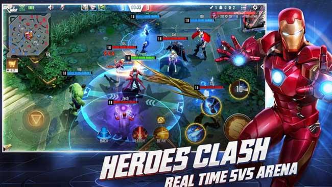 دانلود بازی نبرد بزرگ مارول MARVEL Super War اندروید