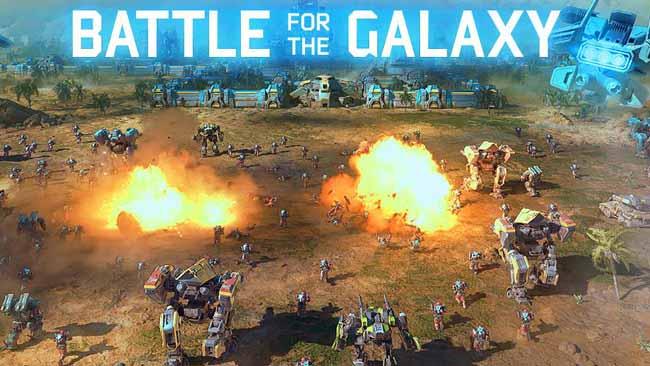 دانلود بازی Battle for the Galaxy با پول بی نهایت