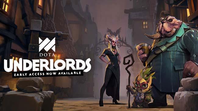 دانلود بازی Dota Underlords برای اندروید با لینک مستقیم