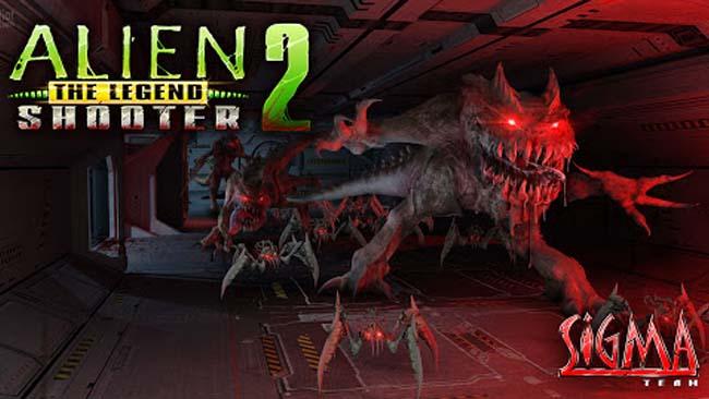 دانلود بازی Alien Shooter 2 با پول بی نهایت