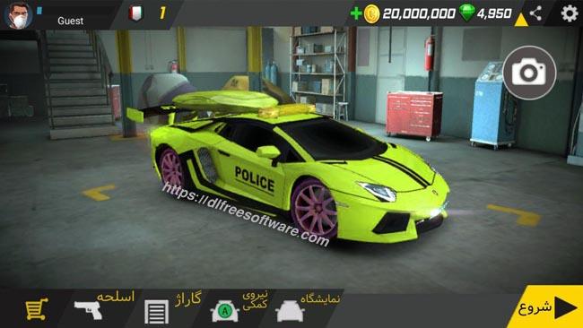 دانلود بازی Police Patrol 2.4 گشت پلیس 2 با پول بی نهایت
