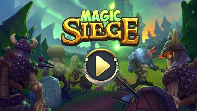 دانلود بازی 1.8.42 Magic Siege - Defender برج دفاعی با پول بی نهایت