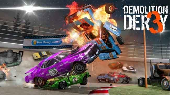 دانلود بازی 3 Demolition Derby با پول بی نهایت