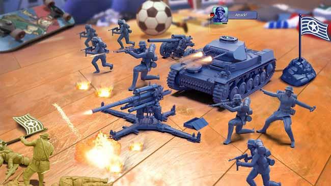 دانلود بازی Army Men Strike اندروید با پول بی نهایت