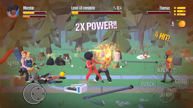 دانلود بازی City Fighter vs Street Gang با پول بی نهایت