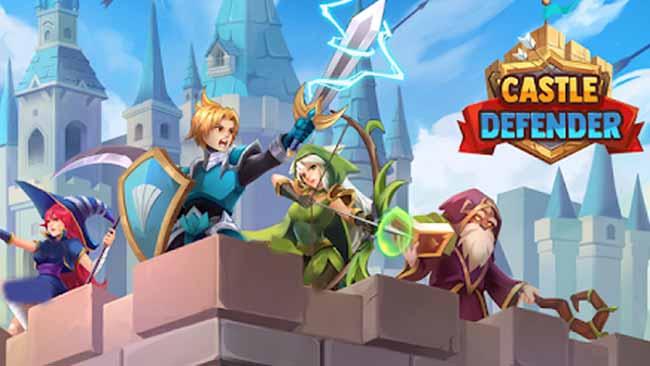 دانلود بازی Castle Defender اندروید + پول بی نهایت