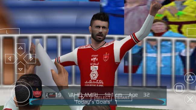 دانلود بازی فوتبال PES 2021 اندروید با گزارشگر عادل فردوسی پور